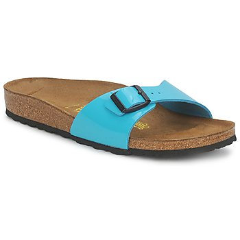 Shoes Women Mules Birkenstock MADRID TURQUOISE / Verne