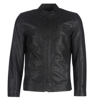 Clothing Men Leather jackets / Imitation leather Only & Sons ONSAL Black