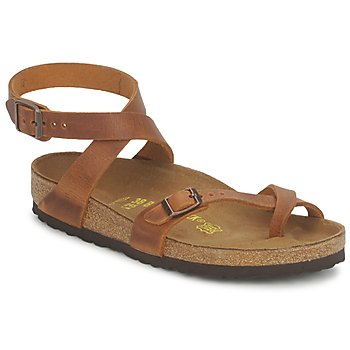 Shoes Women Sandals Birkenstock YARA Camel