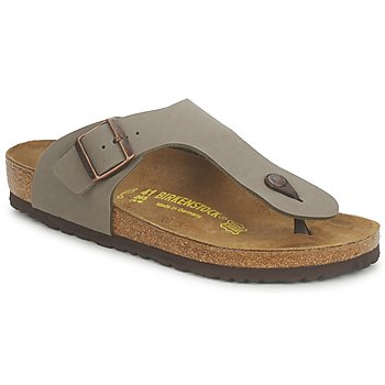 Shoes Men Flip flops Birkenstock RAMSES STONE