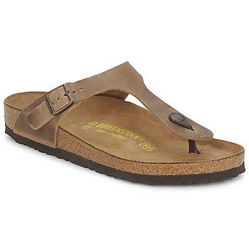 Flip flops Birkenstock GIZEH PREMIUM Brown 350x350