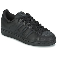 Shoes Men Low top trainers adidas Originals SUPERSTAR FOUNDATIO Black