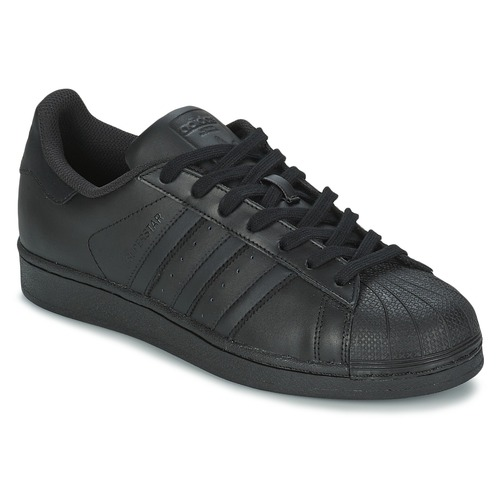 Shoes Low top trainers adidas Originals SUPERSTAR FOUNDATIO Black