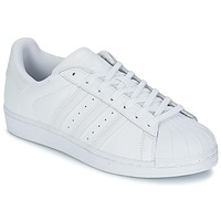 Shoes Men Low top trainers adidas Originals SUPERSTAR FOUNDATIO White