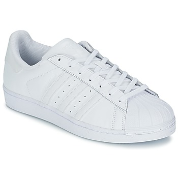 adidas  SUPERSTAR FOUNDATIO  mens Shoes (Trainers) in white