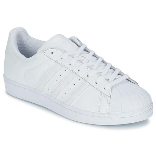 Shoes Low top trainers adidas Originals SUPERSTAR FOUNDATIO White