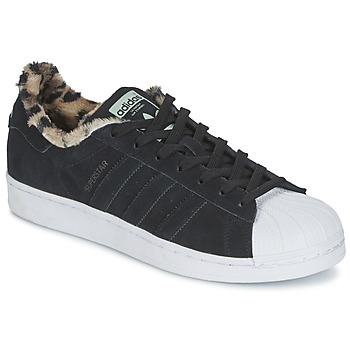 Shoes Women Low top trainers adidas Originals Superstar W Black