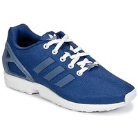 Shoes Boy Low top trainers adidas Originals ZX FLUX K Marine