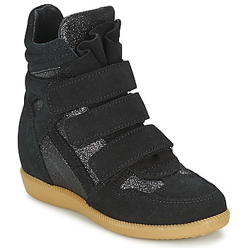 Shoes Girl Hi top trainers Acebo's MILLIE Black
