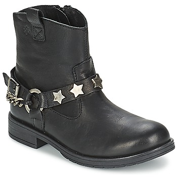 Shoes Girl Mid boots Acebo's JERIE Black