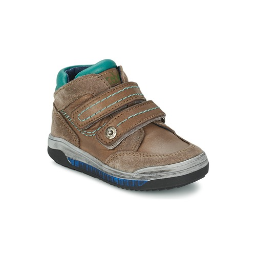 Shoes Girl Hi top trainers Acebo's ACERA Taupe