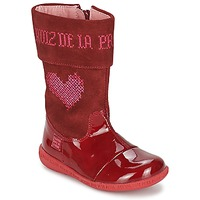 Shoes Girl High boots Agatha Ruiz de la Prada DAFNE Red