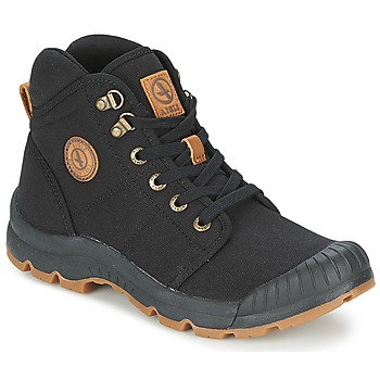 Shoes Men Hi top trainers Aigle TENERE LIGHT Black