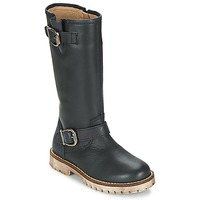 Shoes Girl High boots Garvalin GALERA Black