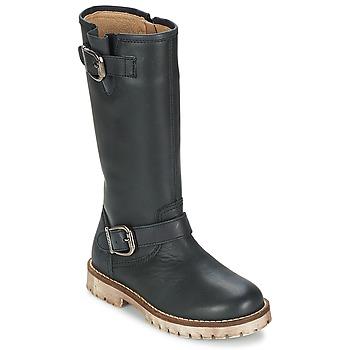 Shoes Girl High boots Garvalin GALERA Black