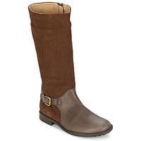 Shoes Girl High boots Garvalin KAISER Y SERRAJE GRABADO Brown