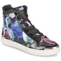 Shoes Women Hi top trainers Ted Baker MADISN Black / Multicoloured