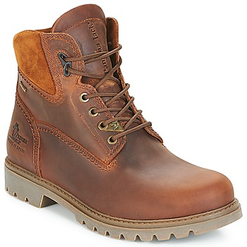 Shoes Men Mid boots Panama Jack AMUR GTX Brown