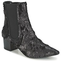 Shoes Women Mid boots RAS ANAHI Black