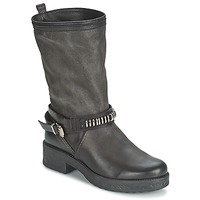 Shoes Women High boots Samoa PIOMBO Black