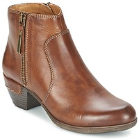 Shoes Women Shoe boots Pikolinos ROTTERDAM MILI 902 Brown