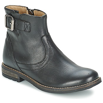 Shoes Girl Mid boots Shwik WACO BASE Black