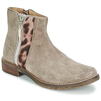Shoes Girl Mid boots Shwik TIJUANA WILD TAUPE