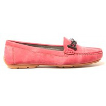 Shoes Women Flat shoes Cassis Côte d'Azur Mocassins Marceline Rouge Red