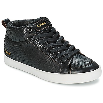 Shoes Women Hi top trainers Feiyue DELTA MID DRAGON Black
