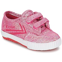 Shoes Girl Low top trainers Feiyue FE LO GLITTER EASY Pink