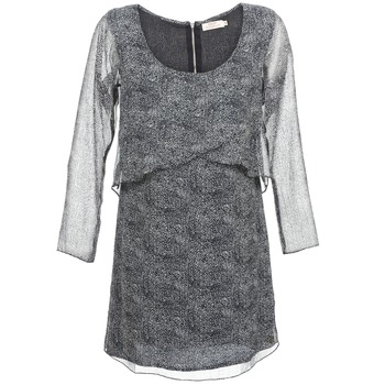 Clothing Women Short Dresses DDP LUZA Black / Grey