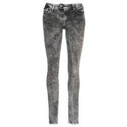 Clothing Women slim jeans DDP DEBORA Grey