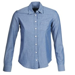 Clothing Women Shirts Gant EXUNIDE Blue