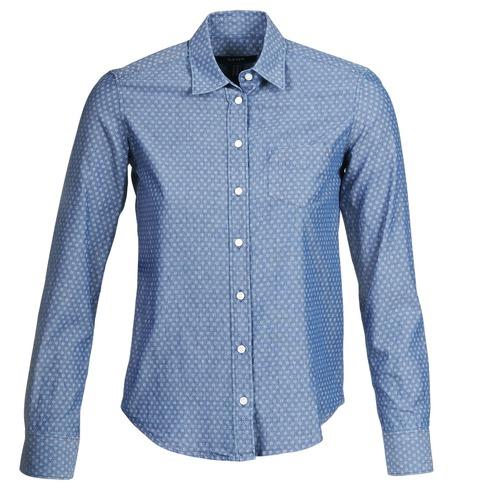 Clothing Women Shirts Gant EXUNIDE Blue
