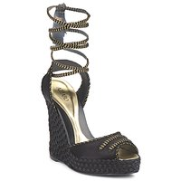 Shoes Women Sandals Azzaro LUGGANO Black