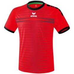 Clothing Men Short-sleeved t-shirts Erima Maillot  Ferrara 2.0 rouge/noir