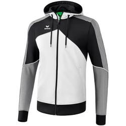 Clothing Men Track tops Erima Veste à capuche  Premium One 2.0 blanc/bleu/noir