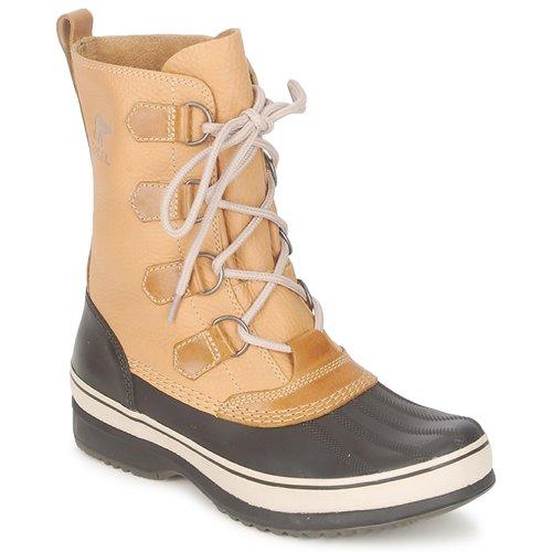 Shoes Men Snow boots Sorel KITCHENER CARIBOU Curry / Stone