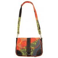 Bags Women Shoulder bags Bamboo's Fashion Petit Sac Besace New Dehli GN-144 Orange/Vert Orange