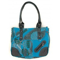 Bags Women Messenger bags Bamboo's Fashion Petit Sac Besace Sydney GN-147 Bleu Blue