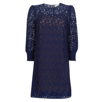 Clothing Women Short Dresses MICHAEL Michael Kors BLOUSON SLV LACE DRS Marine