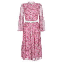 Clothing Women Long Dresses MICHAEL Michael Kors ENCHANTED BLOOM DRESS Pink