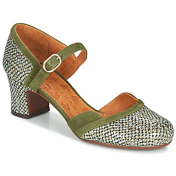 Vintage Heels, Retro Heels, Pumps, Shoes Chie Mihara  TROMPETA  womens Court Shoes in Green £226.10 AT vintagedancer.com