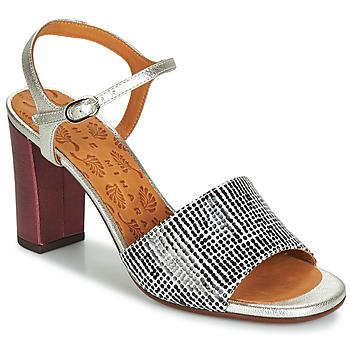 Shoes Women Sandals Chie Mihara PARIGI Silver / Black