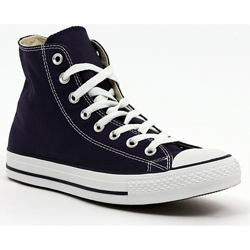 Shoes Hi top trainers Converse ALL STAR HI NAVY Multicolore
