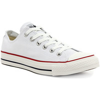 Shoes Women Low top trainers Converse ALL STAR OX  OPTICAL WHITE Multicolore