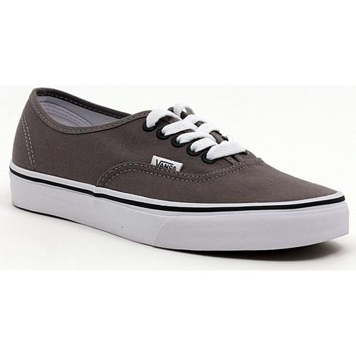 Shoes Men Low top trainers Vans AUTHENTIC PEWTER_BLACK Multicolore