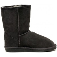 Shoes Girl Mid boots EMU WALLABY LO CHARCOAL Multicolore