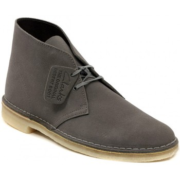Shoes Men Mid boots Clarks DESERT BOOT GREYSTONE    157,5