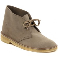 Shoes Women Mid boots Clarks DESERT BOOT SAND    157,5